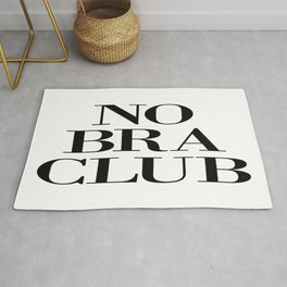 NO BRA CLUB Rug