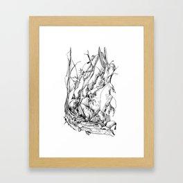 Forest Ferns : Mount Baker Framed Art Print