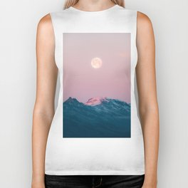 Moon and the Mountains – Landscape Photography Biker Tank