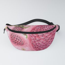a lemon, a few raspberries and some bugs Fanny Pack