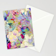 summery floral Stationery Cards