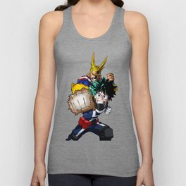 Izuku Midoriya and All Might Great Unisex Tank Top