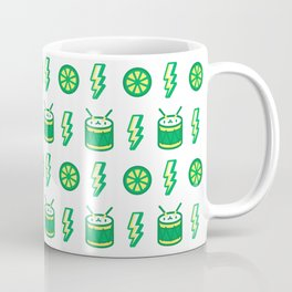 Limes'n Drums Kawaii Tropical Coffee Mug