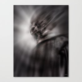 The wrathful god Canvas Print