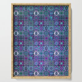 V14 Traditional Moroccan Pattern ART Design. Serving Tray