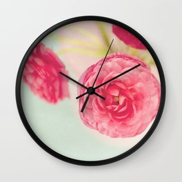 Flowers really do intoxicate me. Vita Sackville-West Wall Clock