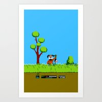 gameboy Art Prints featuring Gameboy by Janismarika