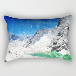 Wishing for Artic Mountains Rectangular Pillow