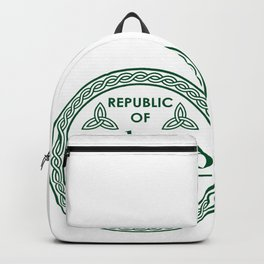 Republic of Ireland - EST. 1921 St.Patrick's Day Awesome Shirt Backpack
