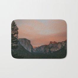 Yosemite National Park Sunset Bath Mat