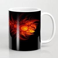 scorpio Mugs featuring Scorpio by Eli Vokounova