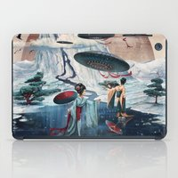 ice iPad Cases featuring Holiday ice by Tanya_tk