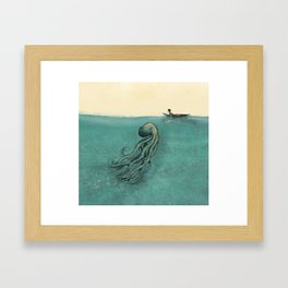 Hello Fellow Being Framed Art Print