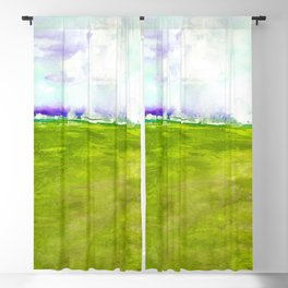 Journey No.600n by Kathy Morton Stanion Blackout Curtain