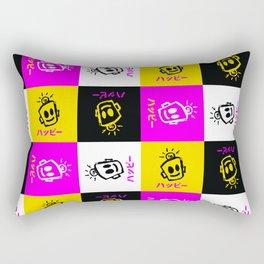 HAPPY Japanese Rectangular Pillow