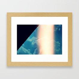 Flare & Sky Framed Art Print