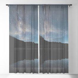 Summer Stars in the Smokies Sheer Curtain