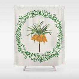 Fritillaria Shower Curtain