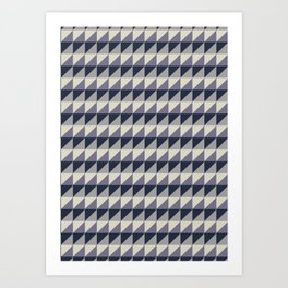 Geometric Pattern #003 Art Print