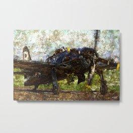 Grunge Dynamics 041 Bearcat Metal Print
