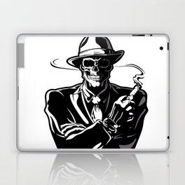 gangster skull. Laptop & iPad Skin