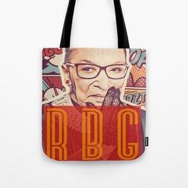 Ruth Bader Ginsburg Tote Bag