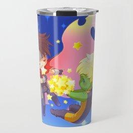 teddy billy - love stars Travel Mug