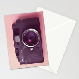 #03_BessaR3a#pink#film#effect Stationery Cards