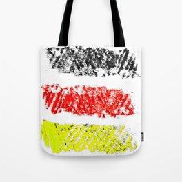 Flag of Germany 3-chalk version Tote Bag