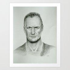 Sting Art Print