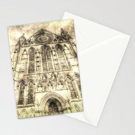 York Minster Cathedral Vintage Stationery Cards