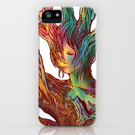 Sleeping Forest 17 iPhone Case