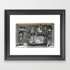 living room Framed Art Print