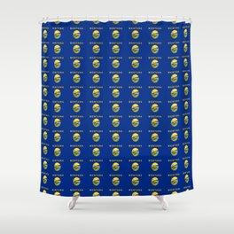 flag of montana 2-america,usa,big sky, treasure state,montanan,west,billings,missoula,great falls Shower Curtain