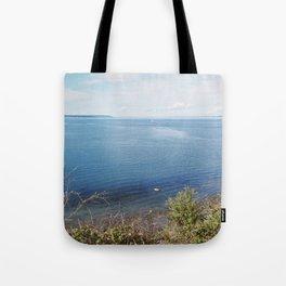 Lake Beach Tote Bag