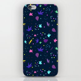 Whimsy Pattern for Fun People iPhone Skin