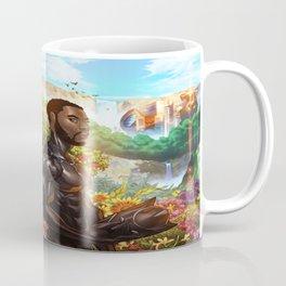 Black Panther the Warrior King Coffee Mug