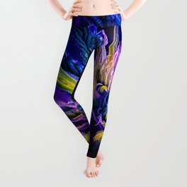 Underwater Cannabis Leggings