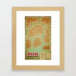 RISK - The Internet Edition Framed Art Print