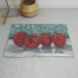 Red Bell Peppers, Paprika Pepper Rug