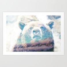 Bear Mountain Colours Art Print