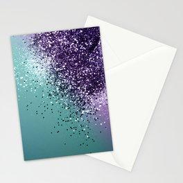 Mermaid Glitter Dream #1 #shiny #decor #art #society6 Stationery Cards