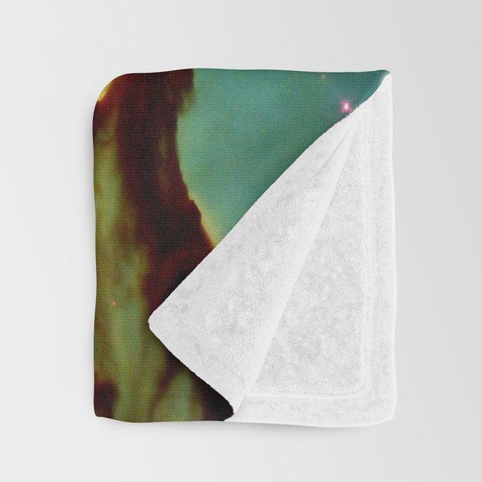 The Pillars of Creation in the Eagle Nebula (NASA/ESA Hubble Space Telescope) Throw Blanket