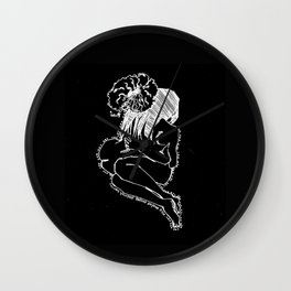 Love Yourself IV (Inverted) Wall Clock
