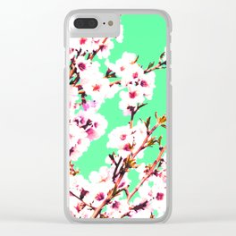 Sakura XII Clear iPhone Case