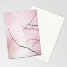 Pastel Winter Sky  Stationery Cards