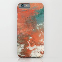 Heavy Snow in China iPhone Case