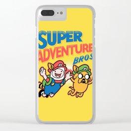 Super Finn Clear iPhone Case