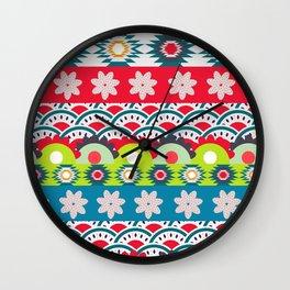 Bright spring Wall Clock