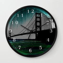 Blacken Gate-San Francisco Wall Clock